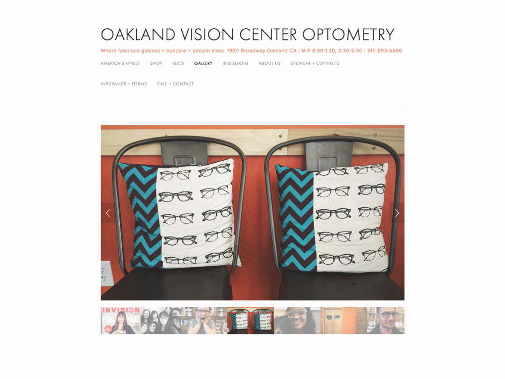 Oakland Vision Center kick-ass website