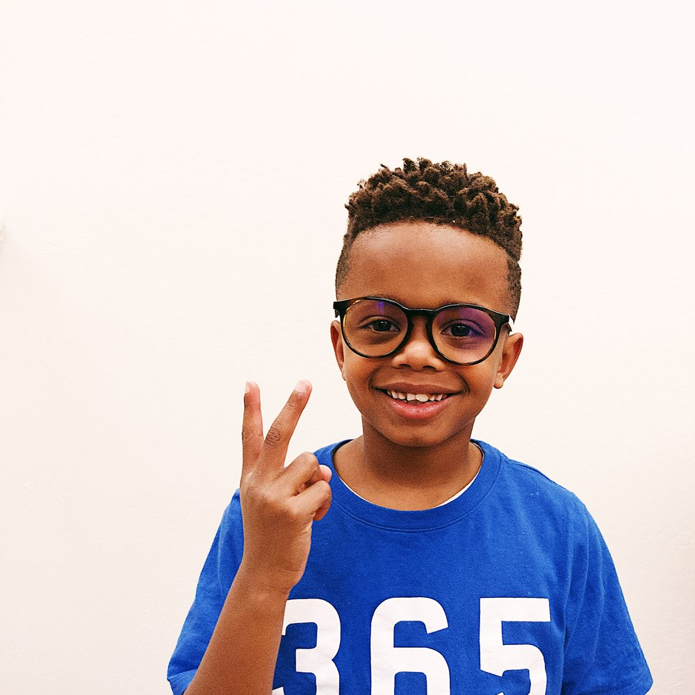 Eye exams for children over the age of 5. Superheroes welcome. Glasses by Etnia Barcelona
