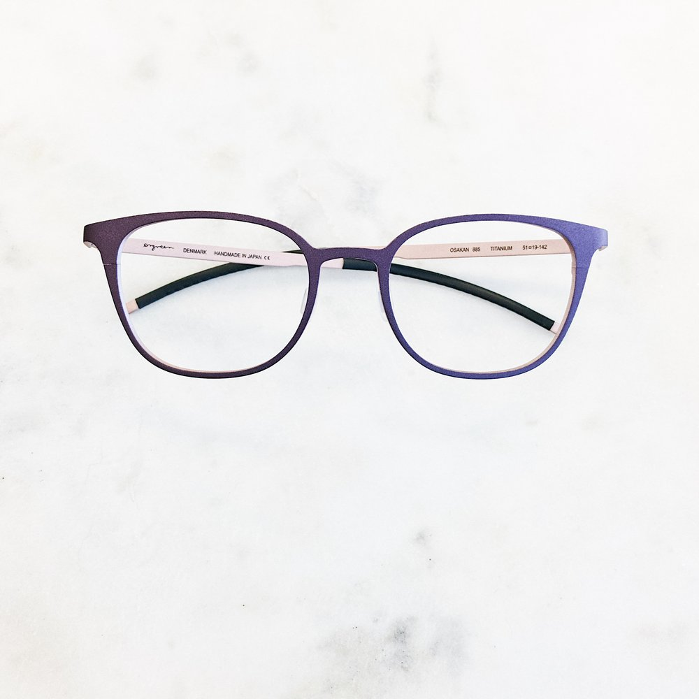 When you play Purple Rain on endless repeat. Glasses by Orgreen Optics
