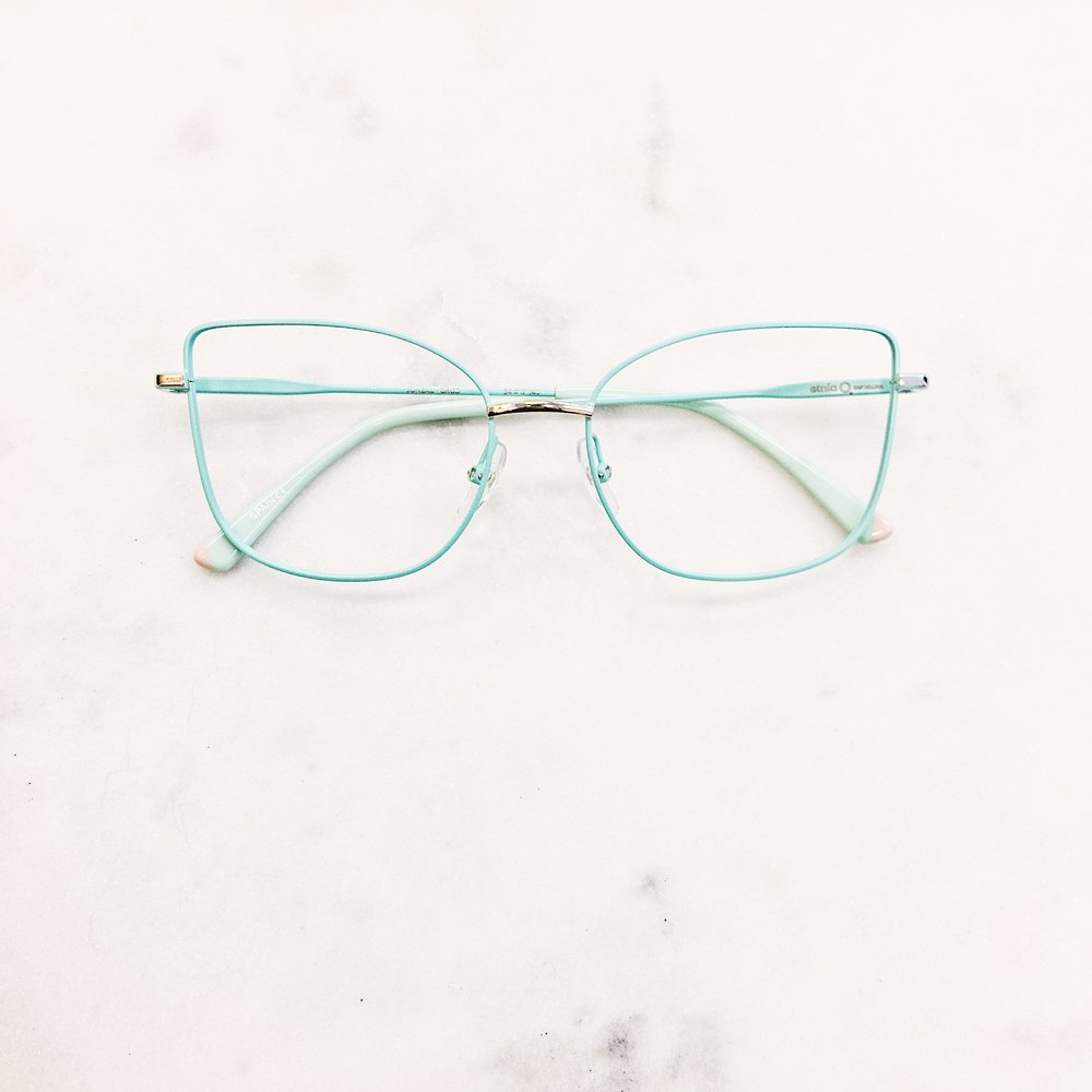 When you love mint chip ice cream and want to see life through mint chip ice cream. Rad glasses by Etnia Barcelona