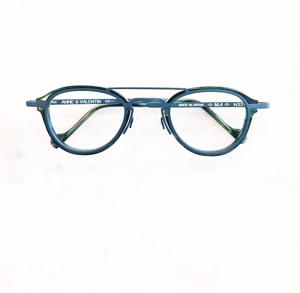64e59598dae Glasses fitting tip  If you have a unibrow and no longer want to shave it.  Try a double bar. It will complement the brow. Rad glasses by Anne et  Valentin.