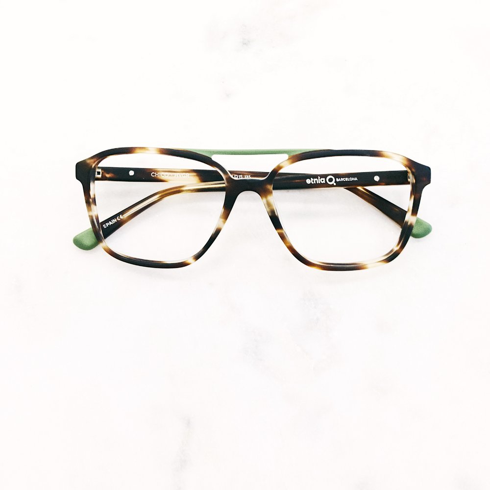 When you want to get that hipster unibrow look on point. Rad glasses by Etnia Barcelona.