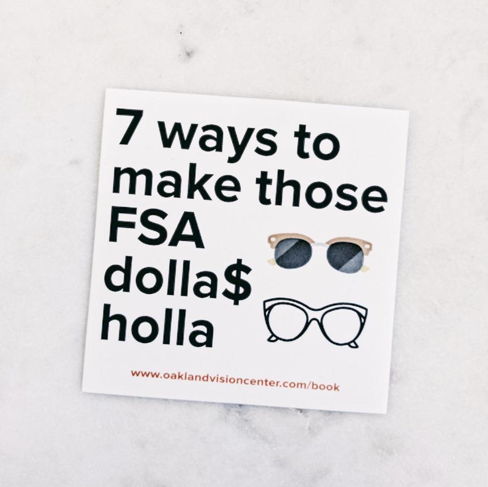 7 ways to make those FSA dollas holla