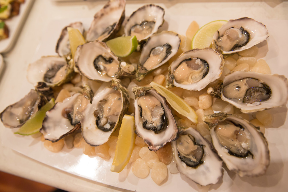 Oysters and Champagne is so simple but yet one of the most popular combinations to impress your clients
