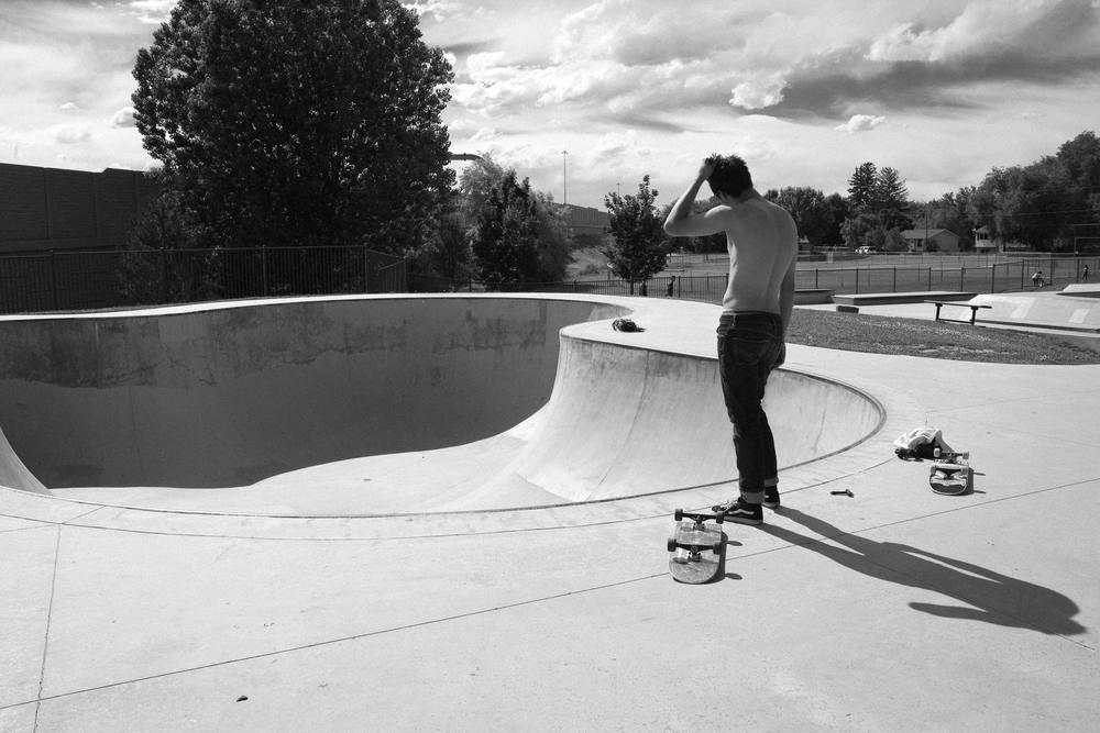 Steven on Go Skateboarding Day