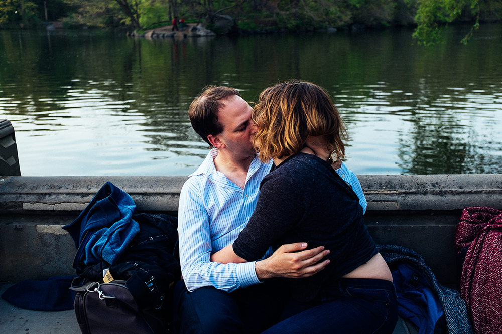 Lovers in Central Park