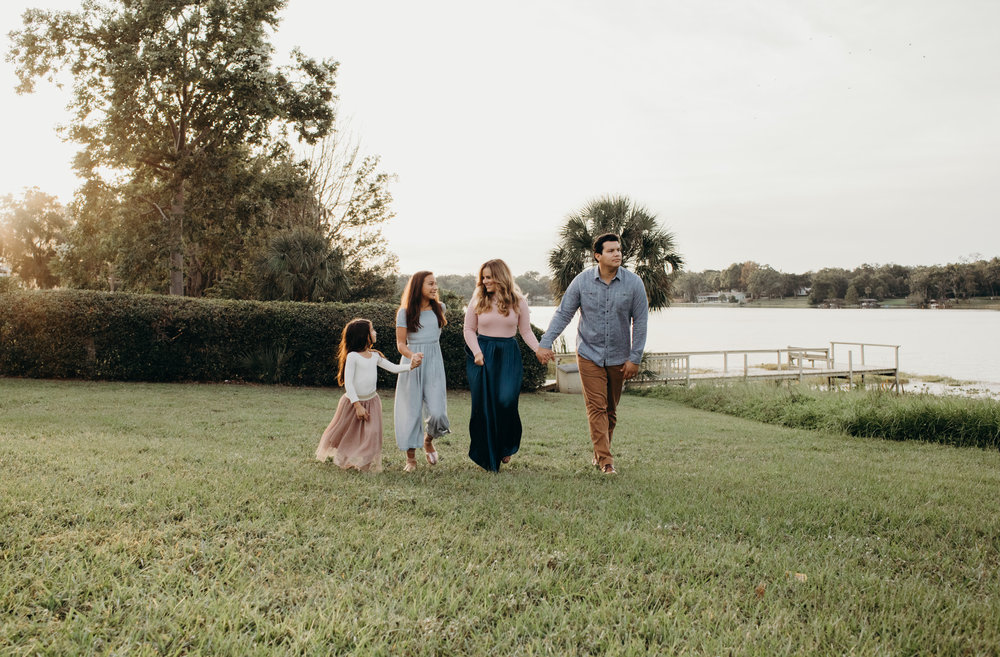 the Gotay Family - A lifestyle session in Maitland, FL