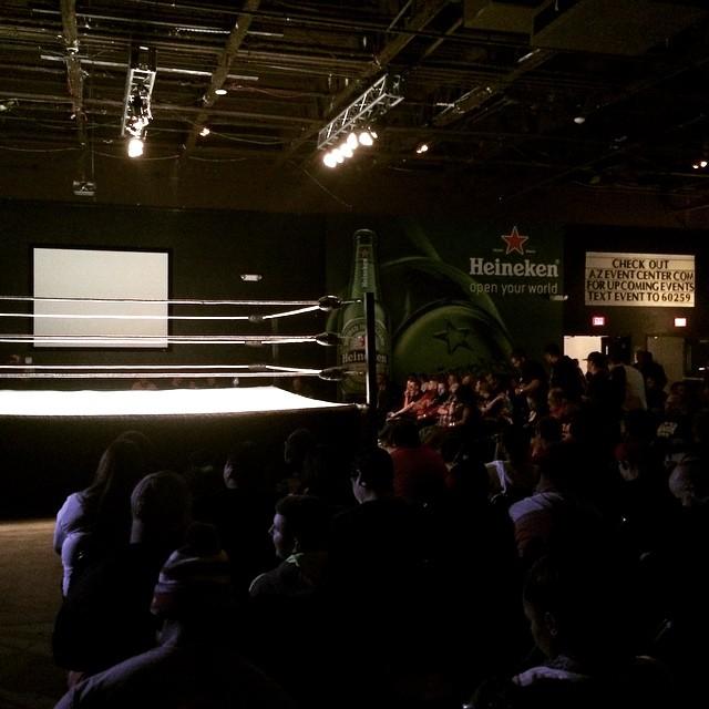 It's wrestling time! #IWFLive #ChosenOne