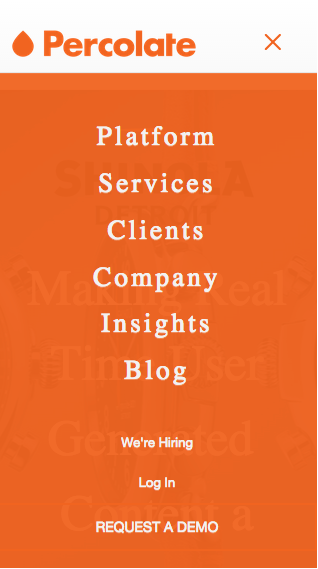 Mobile Responsive Navigation Menu