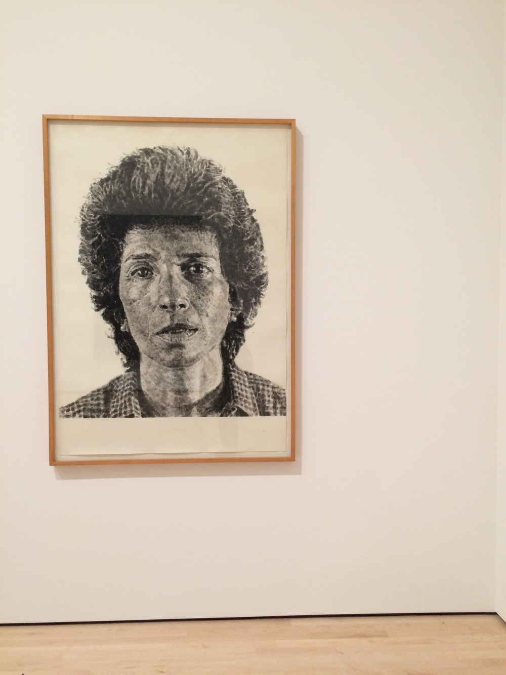 Phyllis , Chuck Close