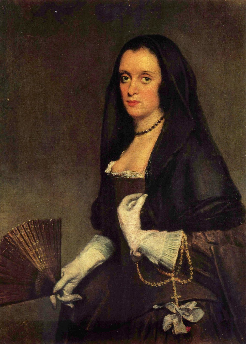 Diego Velázquez, The Lady with a Fan (1635), oil on canvas