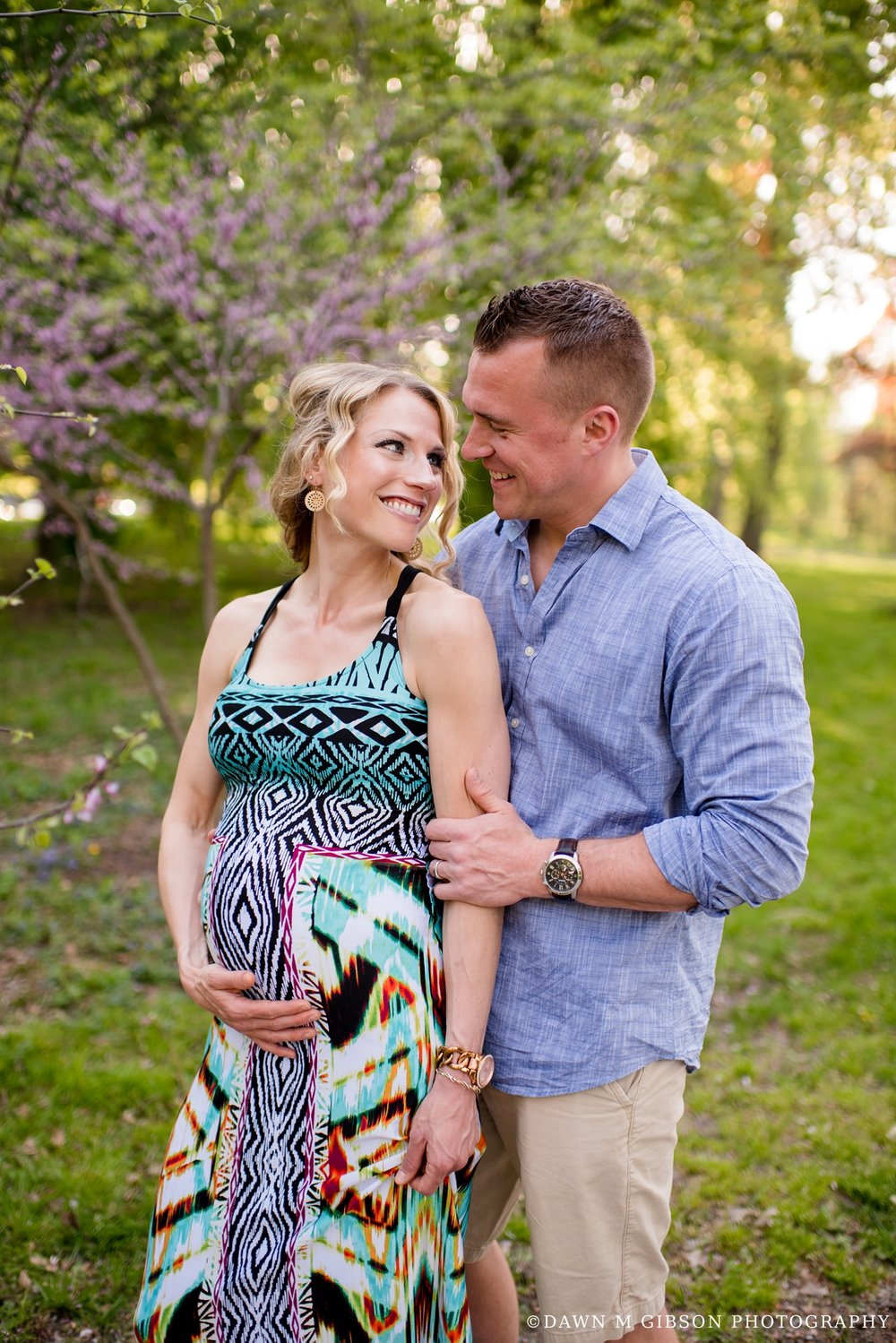 Brittany + Dustin Expecting | Photos by Dawn M Gibson Photography