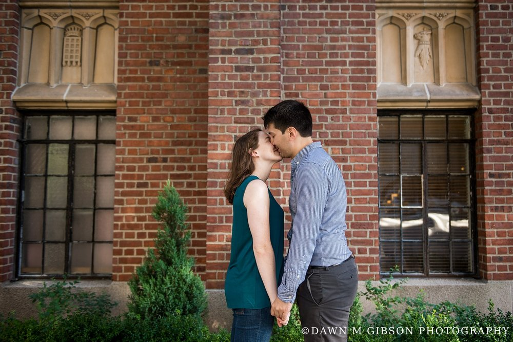 Katie and Andre's Engagement Session | Photos by Dawn M Gibson Photography