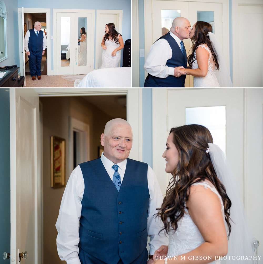 Brittany + Joel's Wedding Day | Photos by Dawn M Gibson Photogra