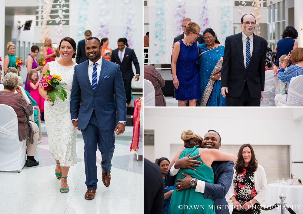 Alexis + Krishna's Wedding Day