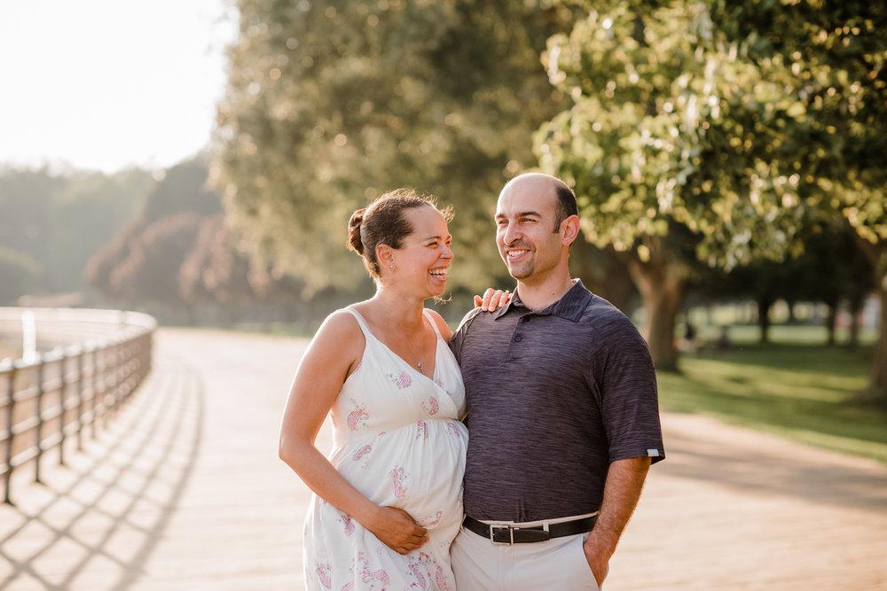 Alexandra + Daniel's Maternity