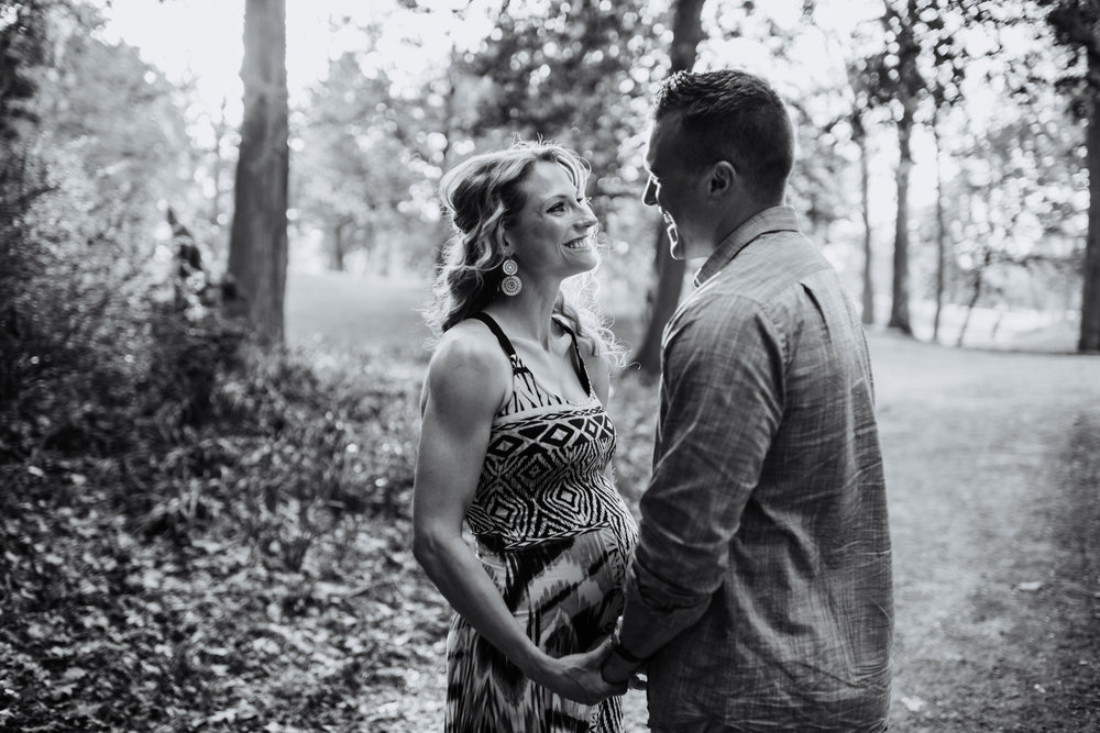 Brittany + Dustin Expecting | Photos by Dawn M Gibson Photograph