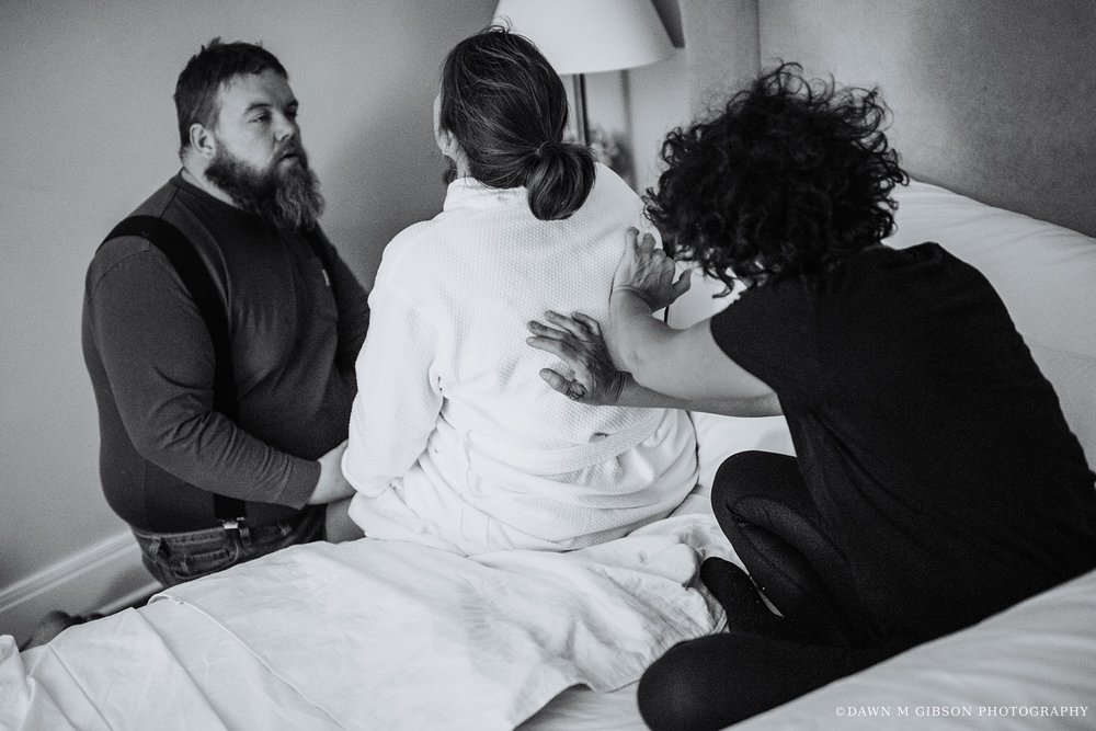 Parkot Birth Story at the Coit House with Fika Midwifery