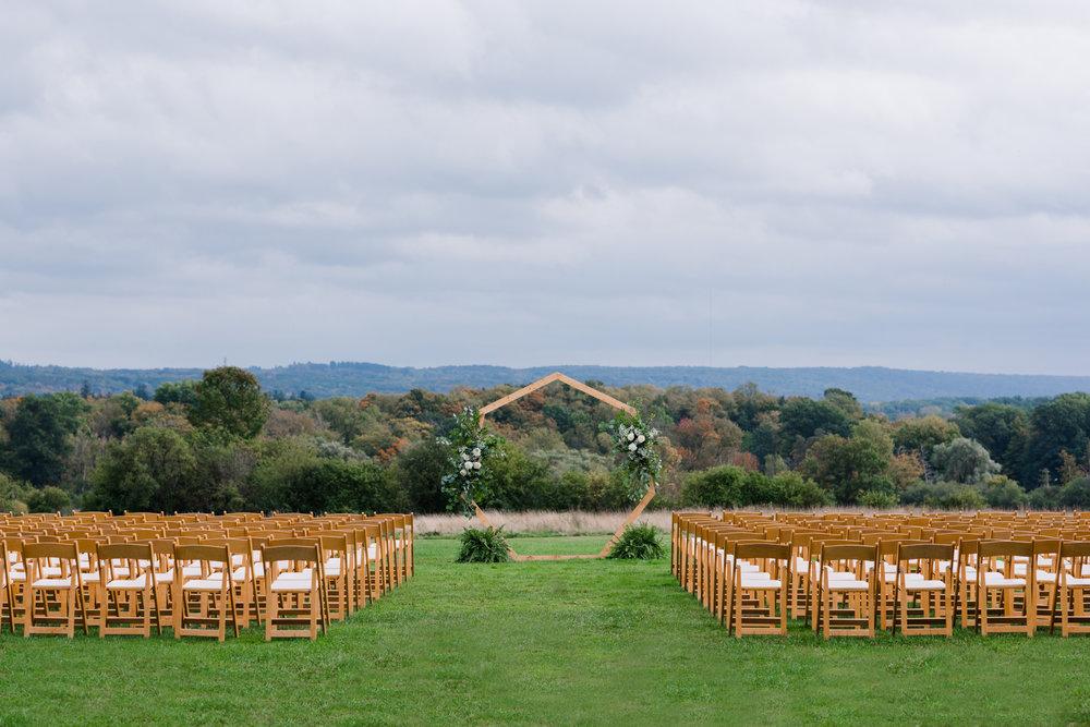 Natalie + Dan's Wedding Day at Knox Farms