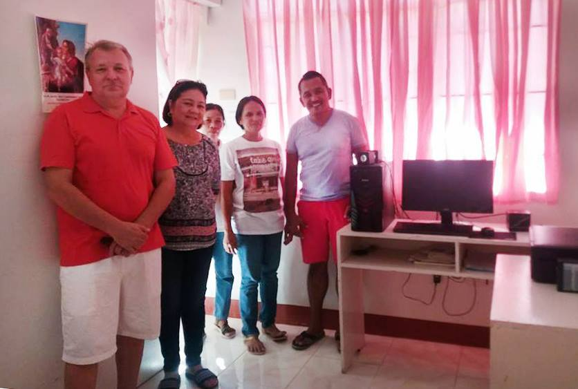donation of desktop computer and printer to barangay agoho health center.jpg