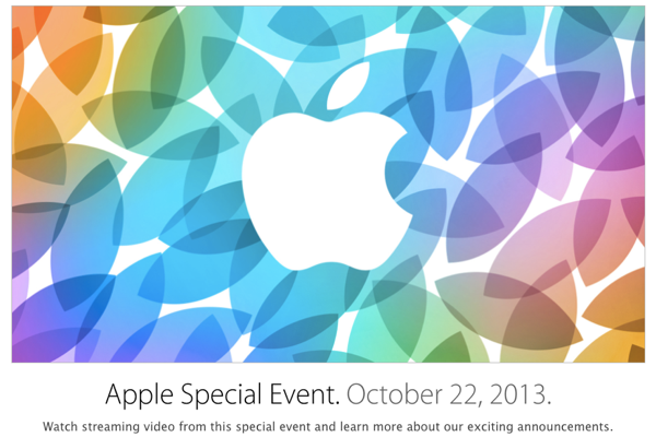 Apple Oct 2013 Event
