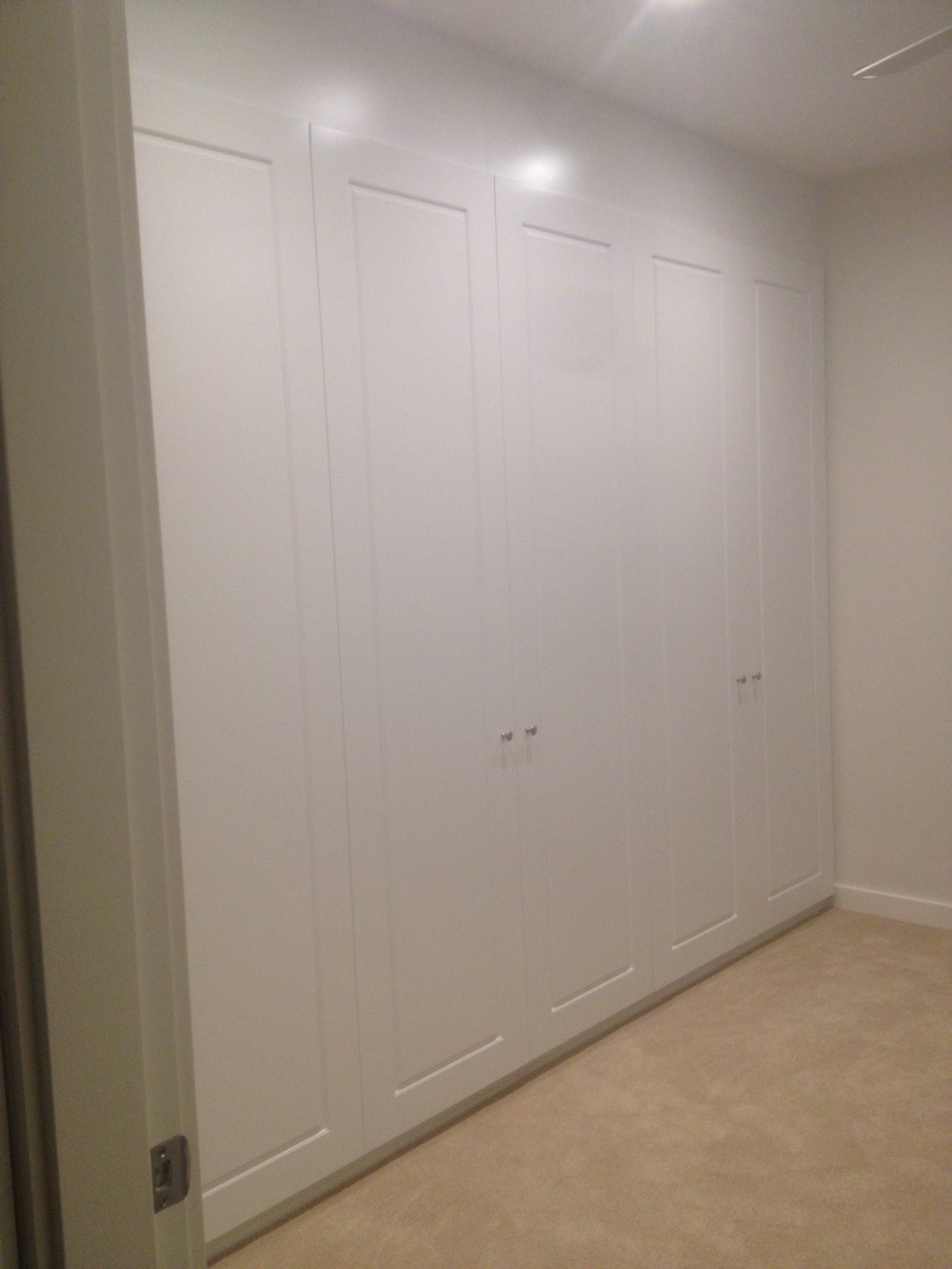 single panel hinged polyurethane wardrobe.JPG