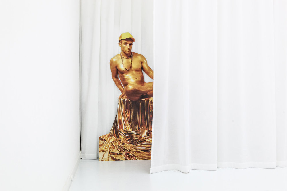 Hermes , 2015  Photography on Alu-Dibond  240 × 170 cm