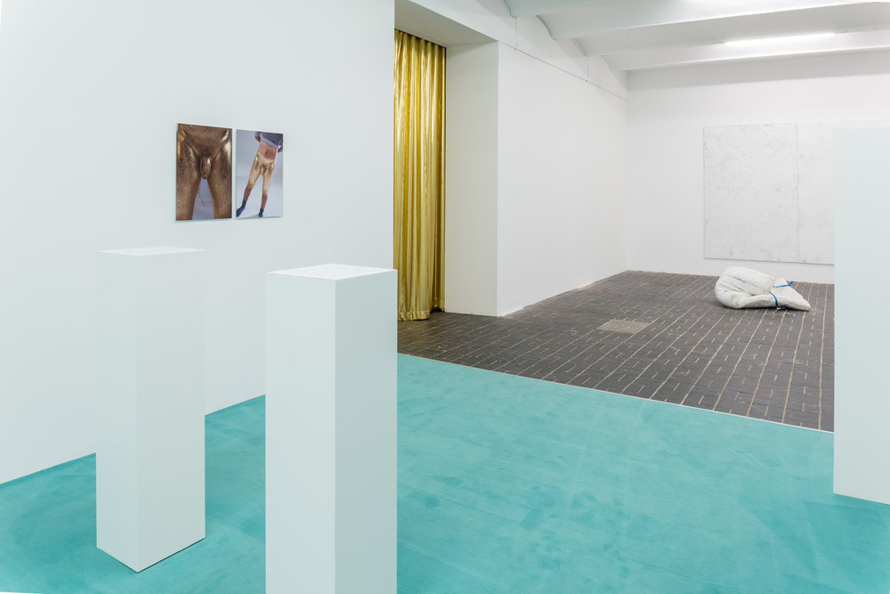 Who´s Speaking?   Installation View  Solo Exhibition at KW Institute for Contemporary Art Berlin (DE), 2015-2016