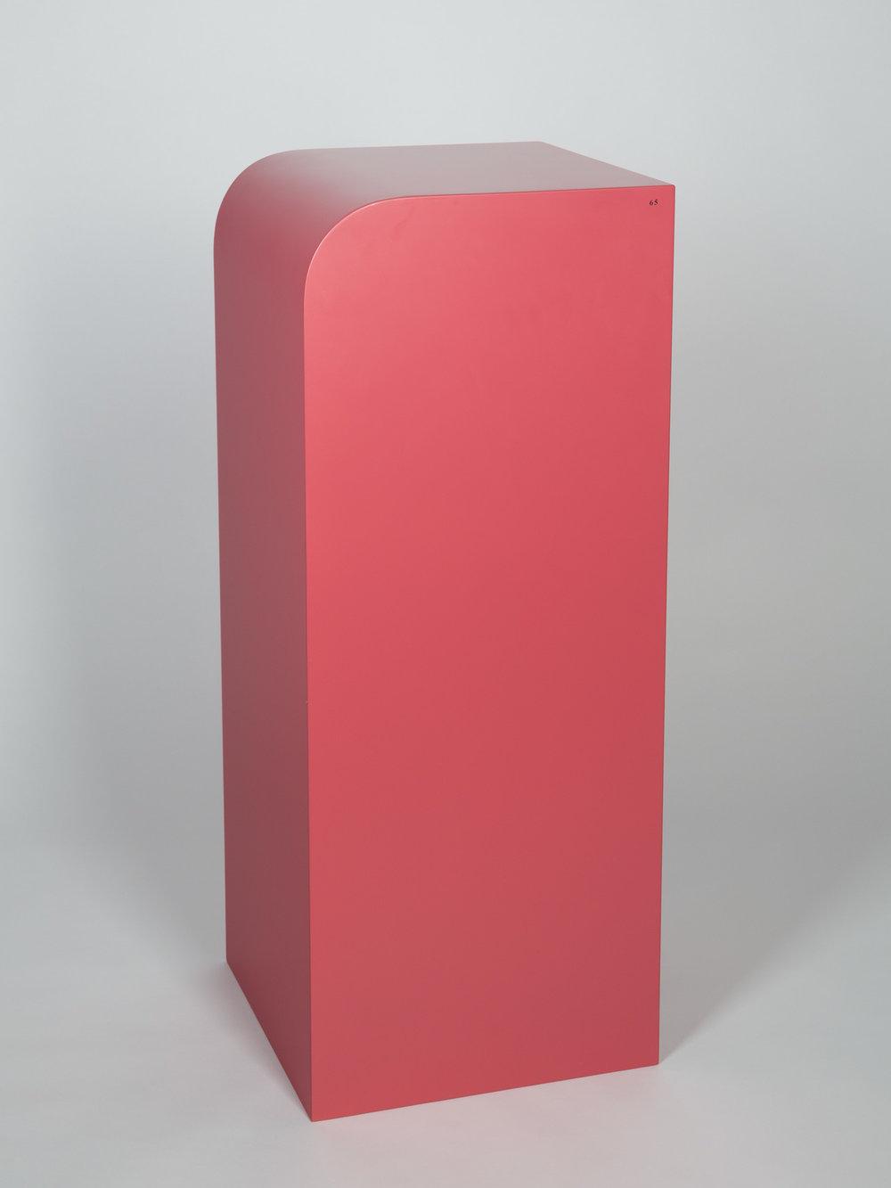 Runde Ecke , 2014  glazed ceramic  100 × 40 × 40 cm
