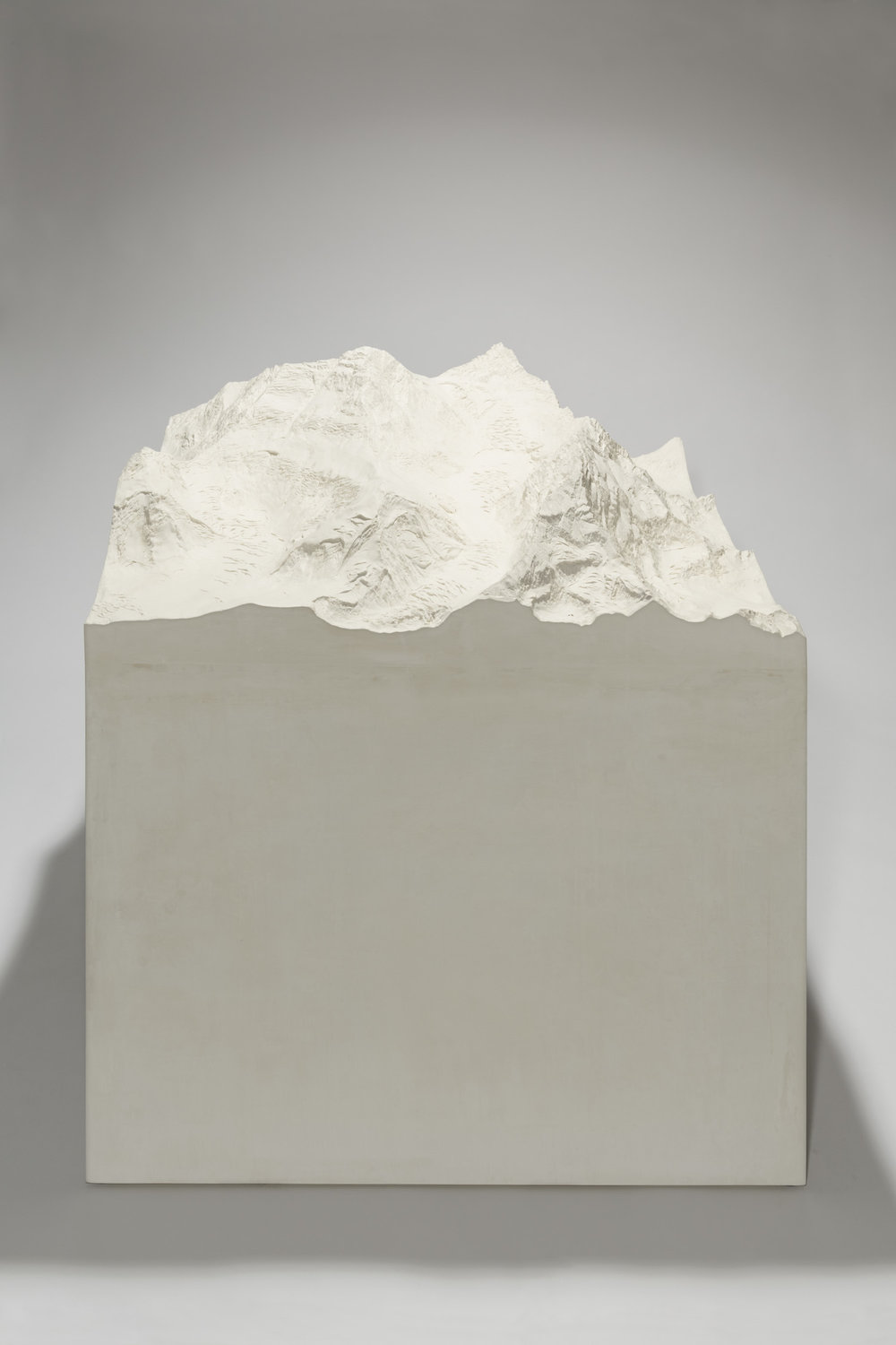 Ein höchster Berg , 2013   Plaster and stucco   112 x 100 x 100 cm   44 x 39 1/3 x 39 1/3 in
