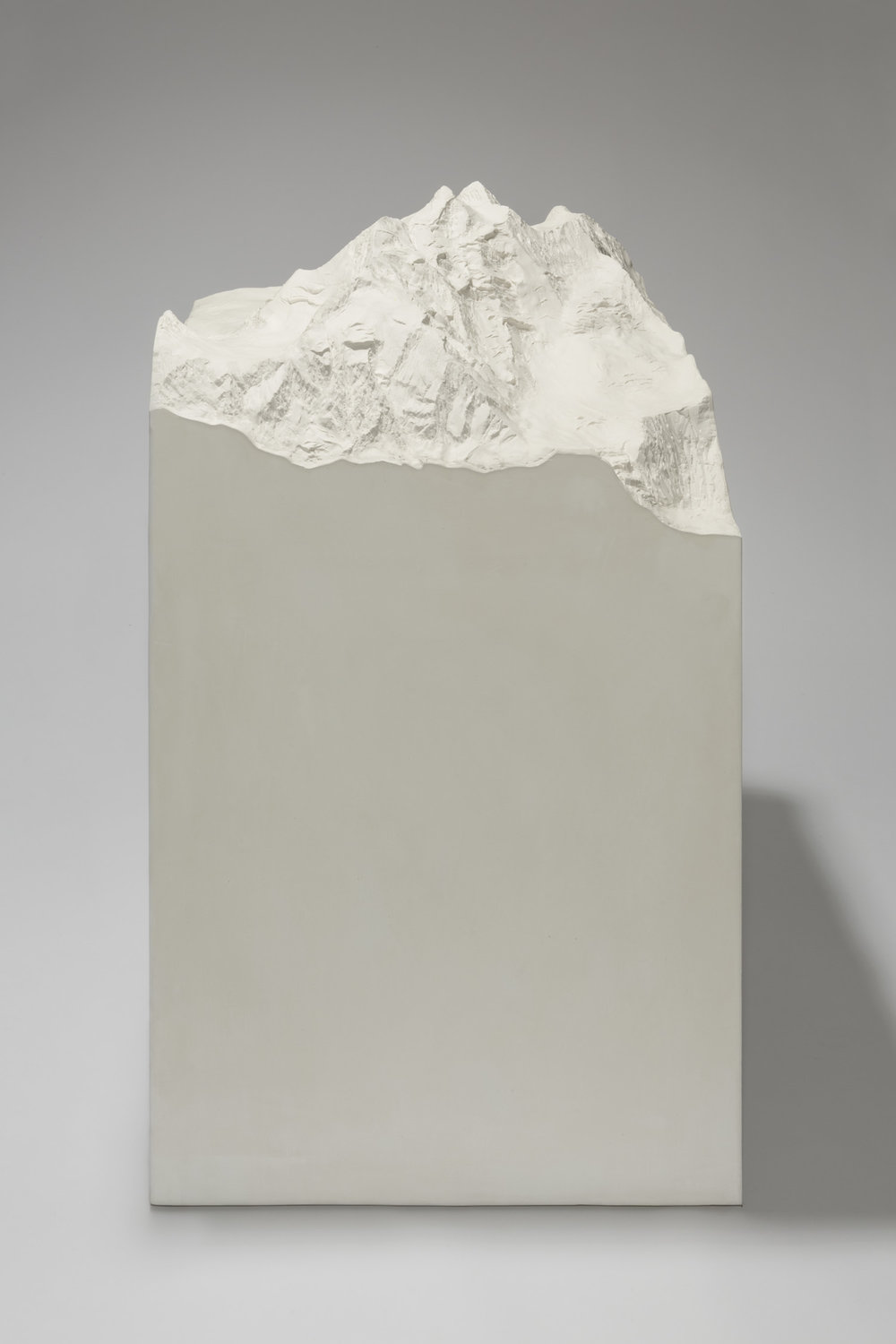 K4  , 2013  plaster and stucco  104 × 61 × 61 cm