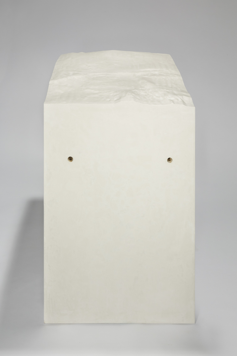 Mount Kea Hawaii , 2013  plaster and stucco  104 × 84 × 64 cm