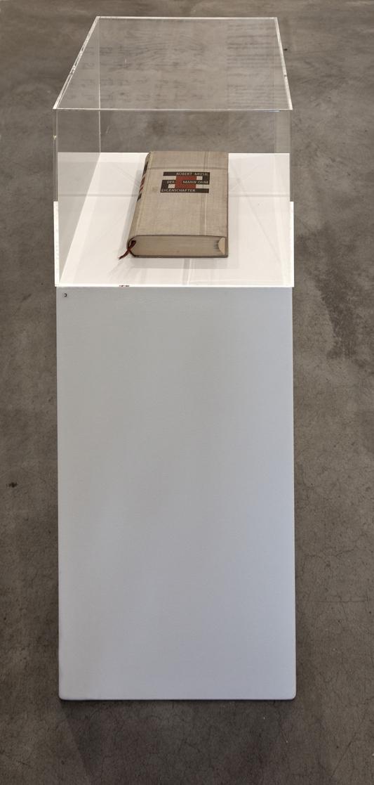Der Mann ohne Eigenschaften , 1931  Robert Musil, erste Edition, Ernst Rowohlt Verlag  12,3 × 19,4 × 4 cm