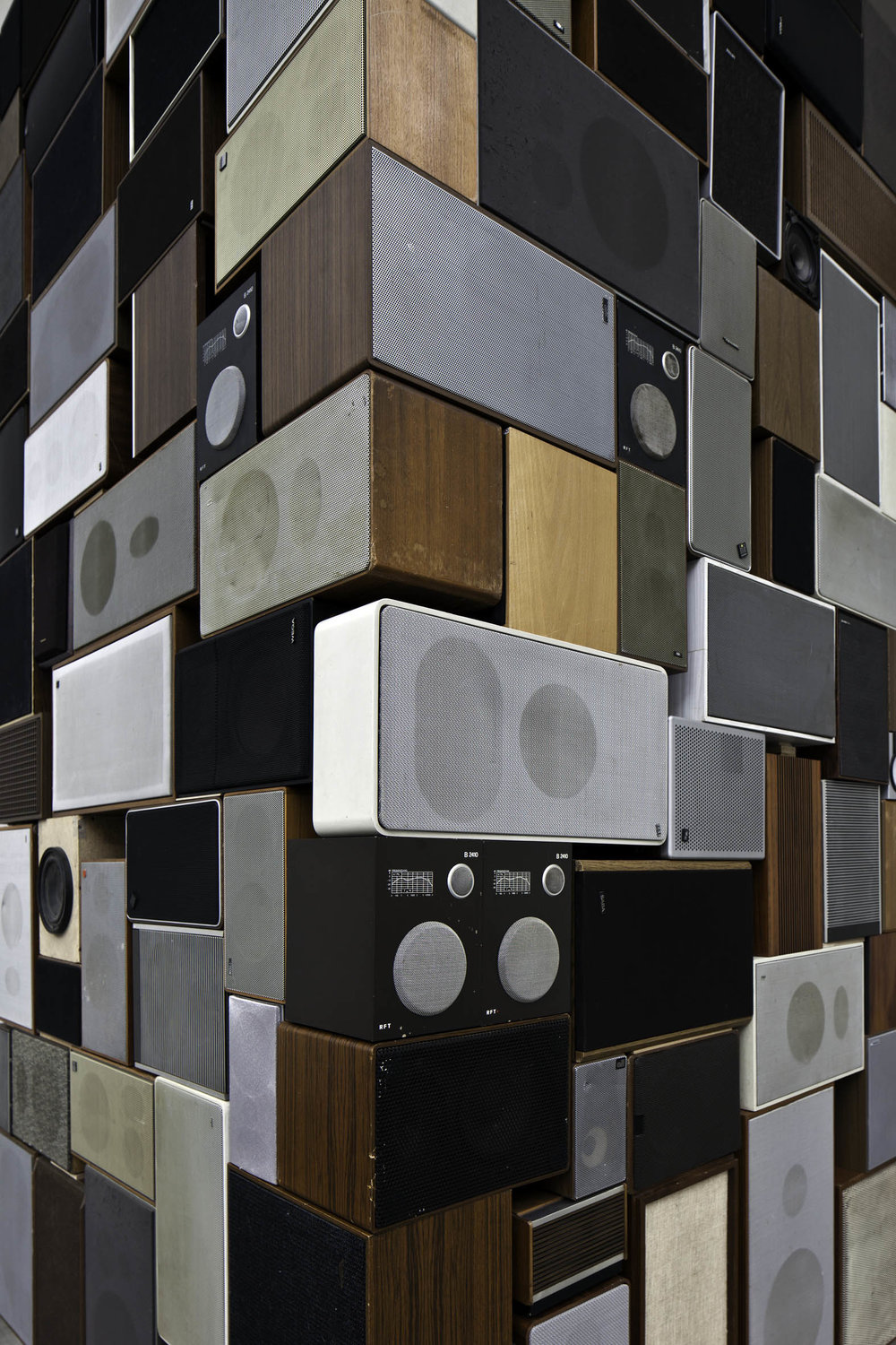Confusio Linguarum , 2011  Speakers, HD 24, amplifiers  Dimensions variable