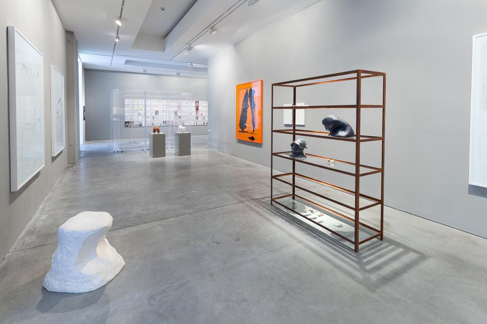 Teil 33. Nachlass zu Lebzeiten   Installation View  Galerie Thomas Schulte, 2017