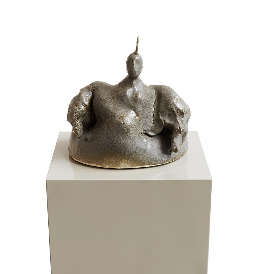 Altmeister , 2017  ceramic  20 x 22 x 19 cm