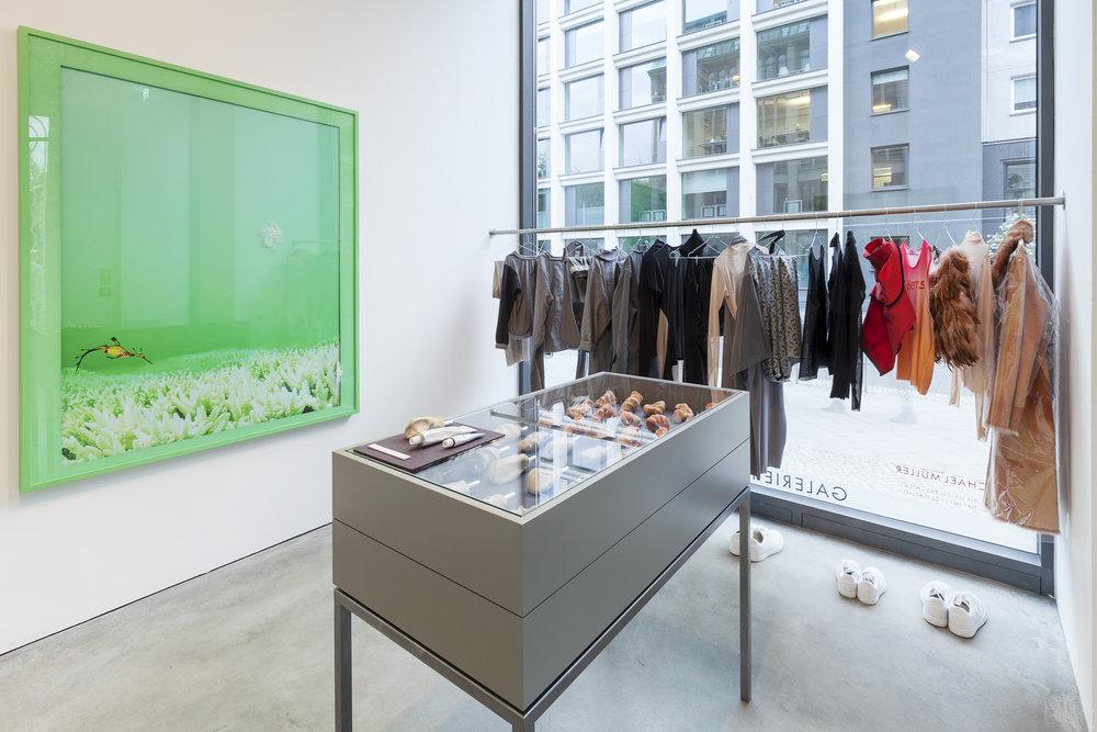 Teil 18. Die Welt gibt es nicht   Installation View  Galerie Thomas Schulte, 2017