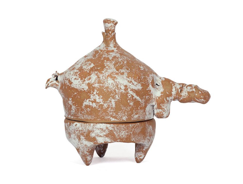 Keramisches Frühwerk  (Deutung), 1984/2017  ceramic  29 x 34 x 19 cm
