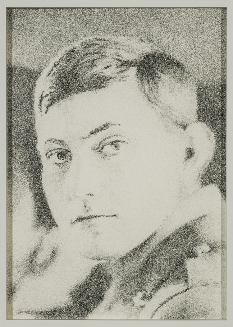 Schweigen (George Mallory (18. Juni 1886 - 8. Juni 1924)) , 2013  Pencil on paper  39 × 28 cm