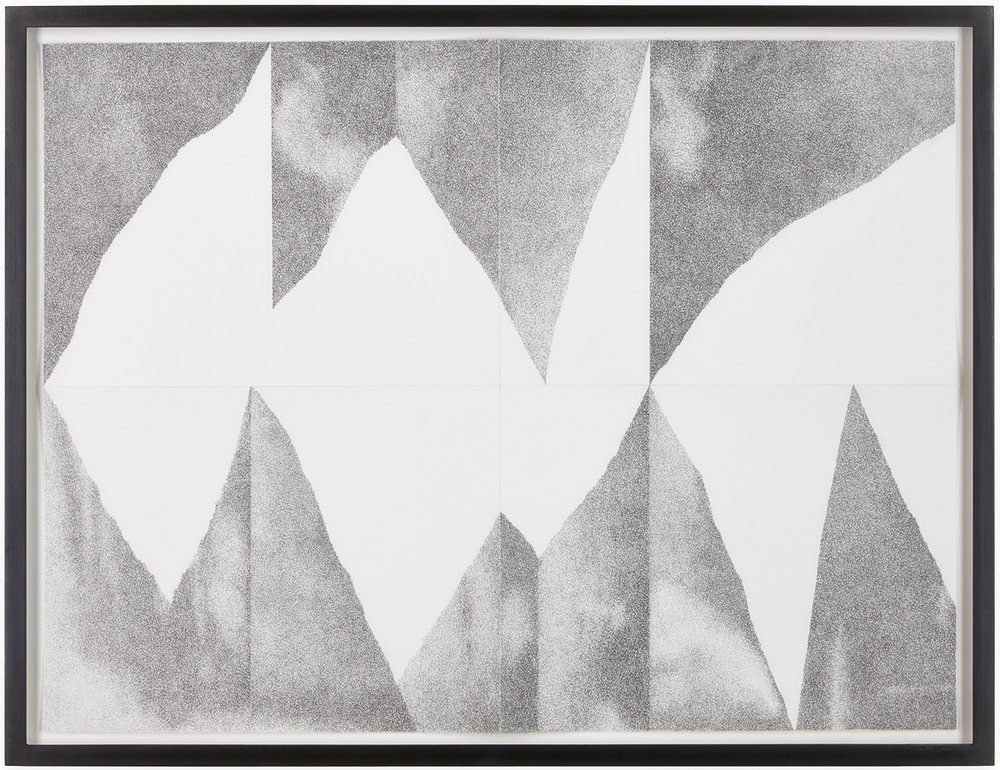 Shift (Dictionary of the Possible) , 2014  pencil on paper  52 × 68,5 cm