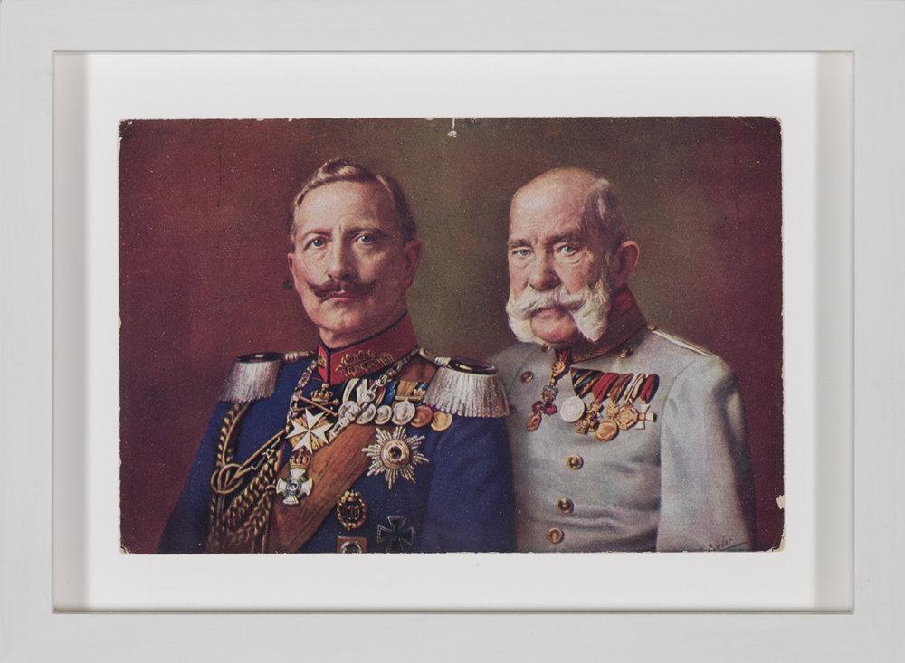 Parallelaktion , 1913  postcard  13,7 × 18,7 cm