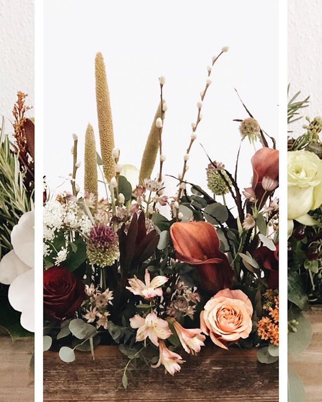 Thanksgiving preorders are live on our website. We've got a foraged and tradition style centerpiece in three sizes. Follow the link in our bio for more info! #floralbox #thanksgiving