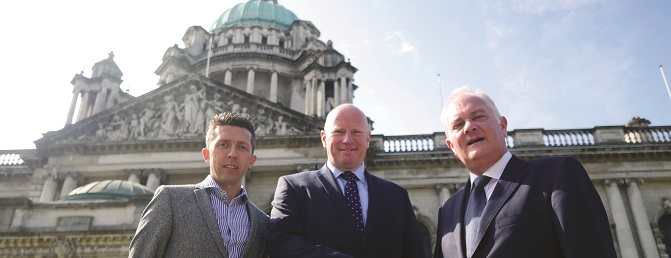 Conor Devine MRICS Director CPF, Peter Torrens Head Of Client Acquisition CPF, James Gibbons LLB Director CPF