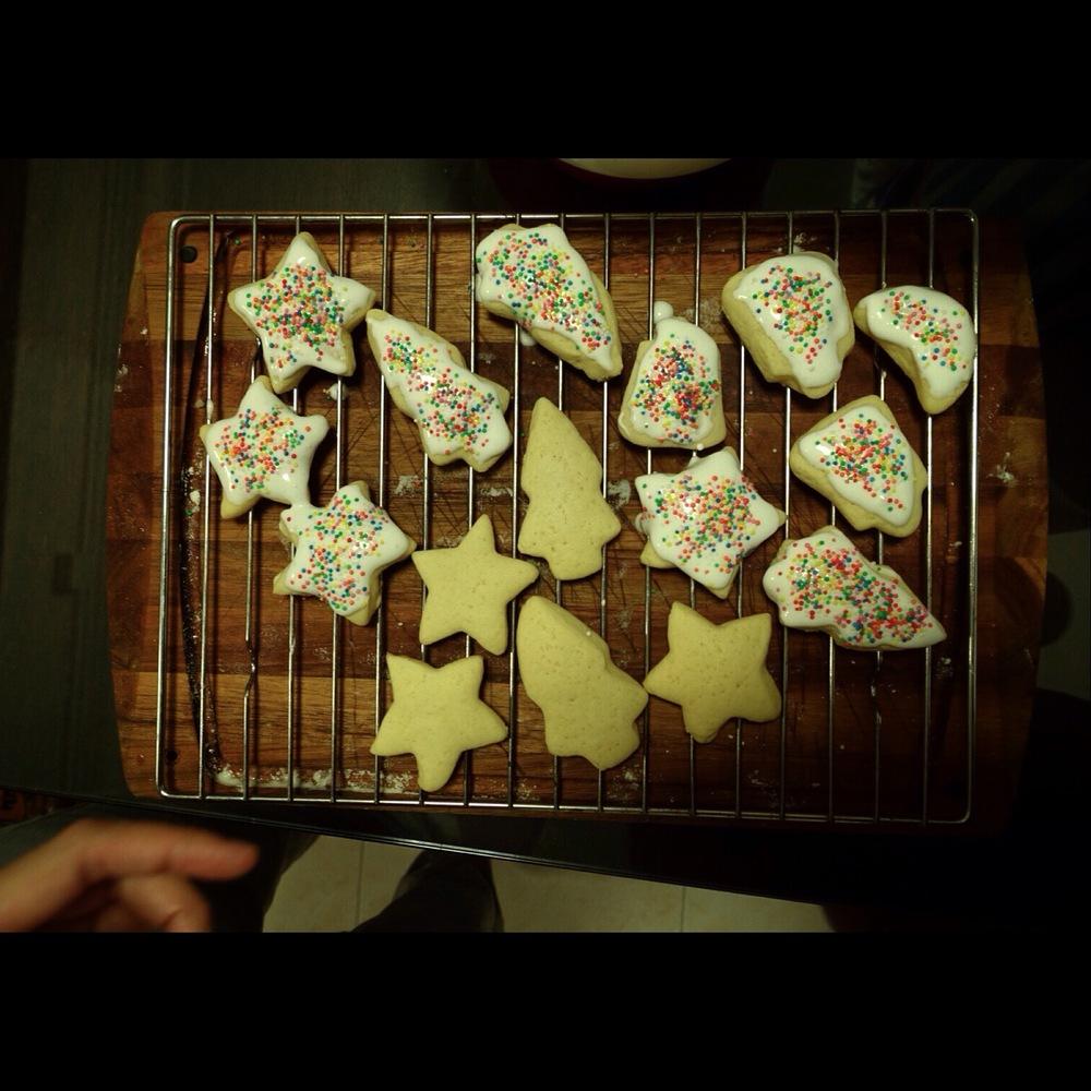 Rainbow Sprinkles Christmas Cookies Recipe.