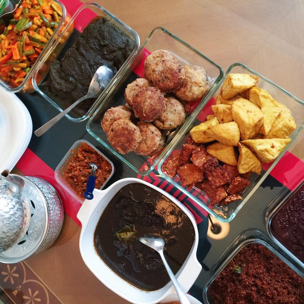 Nasi Ambeng party.