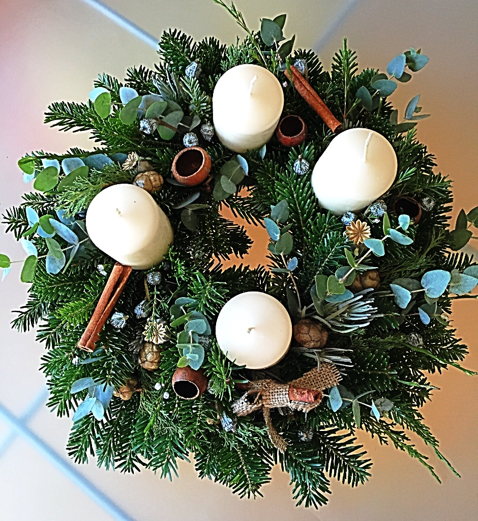 Soft Christmas Wreath