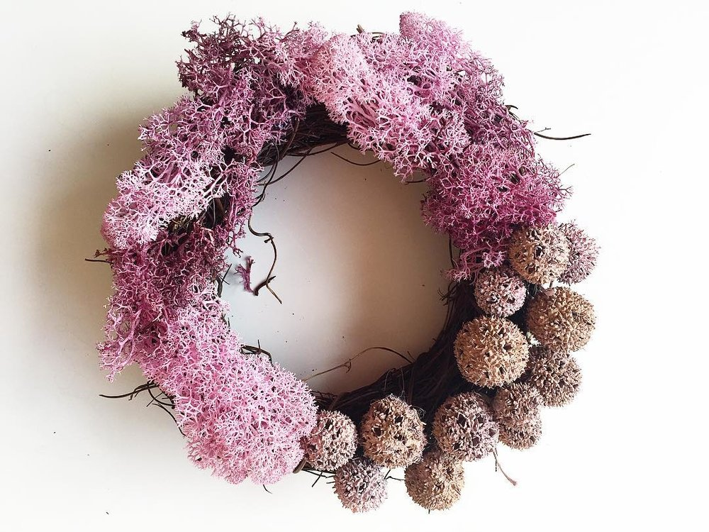 Coral - Small size wreath (20 cm)4 500 HUF