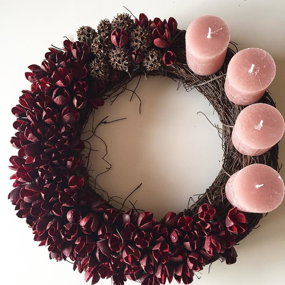 Rouge - Advent Wreath normal size (30 cm)9 500 HUF