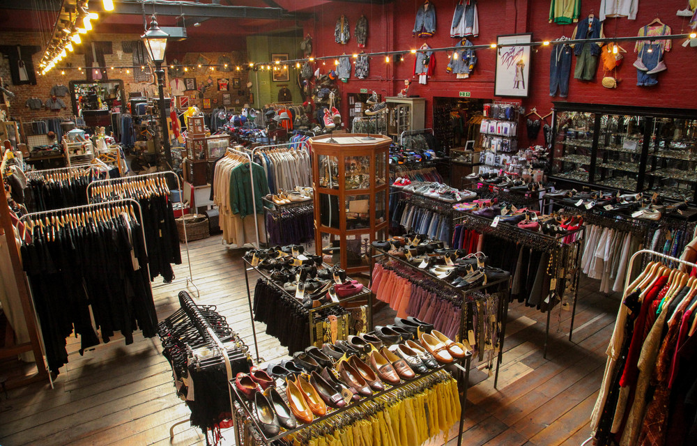 Vintage clothing stores east bay