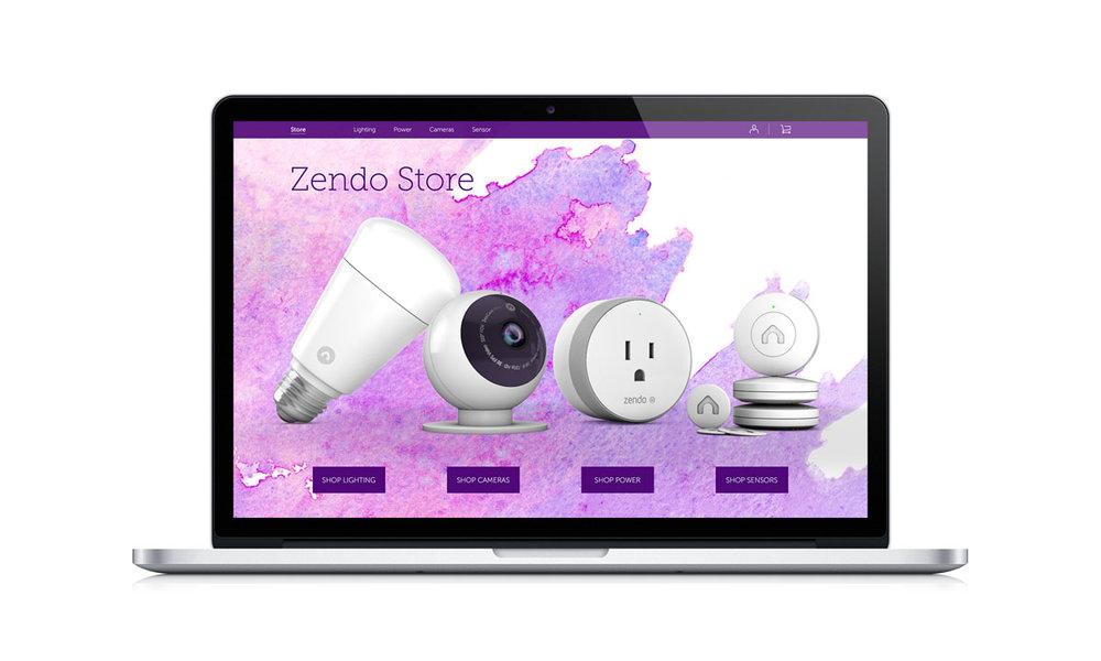 E-Commerce - The e-commerce site was a collaborative effort between Zendo & Electric Pulp.